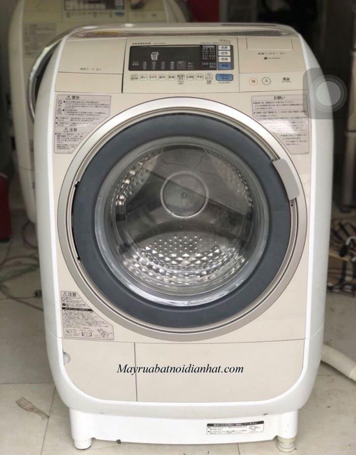 Máy giặt nội địa nhật Hitachi BD-V3500L chức năng Econavi, Inverter tại Hà Nội, Hải Phòng
